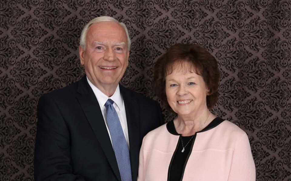 Presidente y Esposa